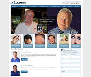Distefano Hair Restoration Center